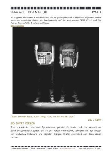 soda info sheet_de pdf - Ghetto Agency