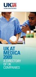 uk at medica 2009 - Association of British Healthcare Industries