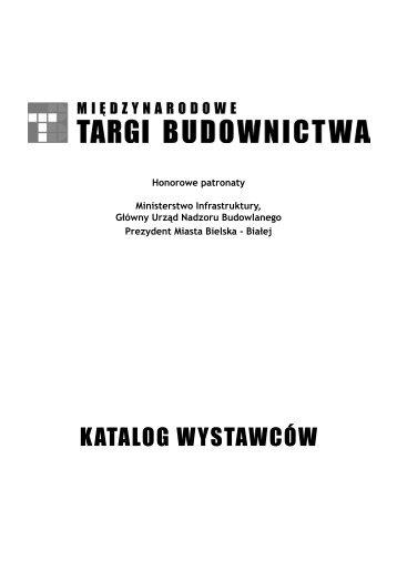 """katalog wystawców - Biuro Promocji i Wystaw """"ASTRA"""" - HINET ..."""
