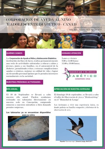 Newsletter CANAD AGOSTO 2017