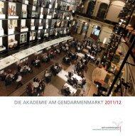 DIE AKADEMIE AM GENDARMENMARKT 2011/12 - Berlin ...