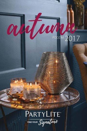 PartyLite katalog PODZIM 2017