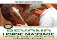 Beyond Horse Massage: A Breakthrough Interactive Method for Alleviating Soreness, Strain, and Tension (Jim Masterson)