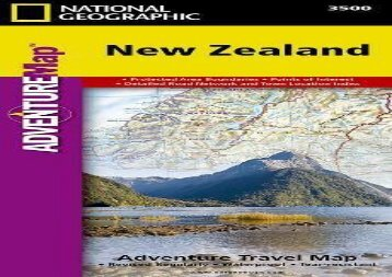 New Zealand (National Geographic Adventure Map) (National Geographic Maps - Adventure)