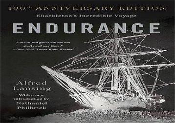 Endurance: Shackleton s Incredible Voyage (Alfred Lansing)