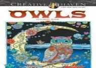 Creative Haven Owls Coloring Book (Adult Coloring) (Marjorie Sarnat)