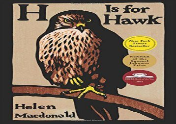 H Is for Hawk (Helen Macdonald)
