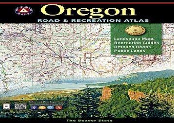 Oregon Benchmark Road   Recreation Atlas (National Geographic Maps)