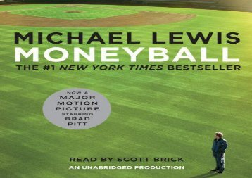 Moneyball: The Art of Winning an Unfair Game (Michael Lewis)
