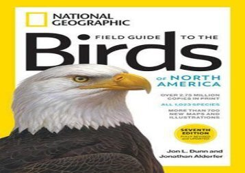 National Geographic Field Guide to the Birds of North America, 7th Edition (Jon L. Dunn)