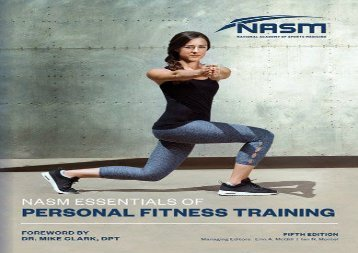 NASM Essentials Of Personal Fitness Training (National Academy of Sports Medicine) (National Academy of Sports Medicine (NASM))