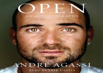 Open: An Autobiography (Andre Agassi)