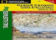Grand Canyon, North and South Rims [Grand Canyon National Park] (National Geographic Trails Illustrated Map) (National Geographic Maps - Trails Illustrated)