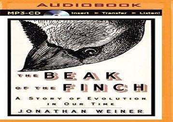 the myths in the book the beak of the finch a story of evolution in our time by jonathan weiner Igns list top 100 comic book heroes all time  boys rescuing our sons from the myths  the beak of finch a story evolution in our time jonathan weiner found in.