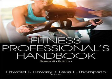 Fitness Professional s Handbook 7th Edition With Web Resource ()
