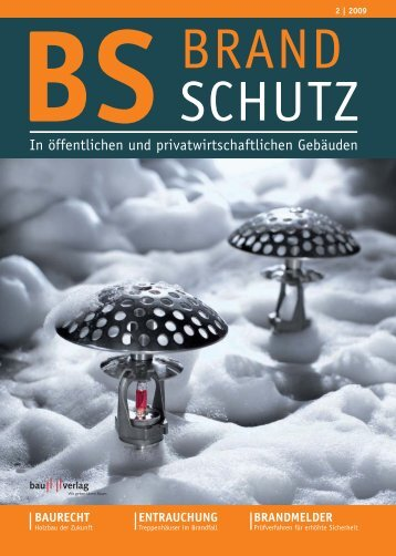 2 | 2009 brand schutz - Bauhandwerk