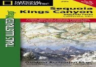 Sequoia and Kings Canyon National Parks (National Geographic Trails Illustrated Map) (National Geographic Maps - Trails Illustrated)
