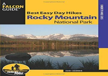 Best Easy Day Hikes Rocky Mountain National Park (Best Easy Day Hikes Series) (Kent Dannen)