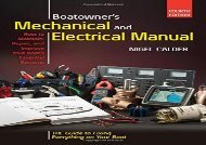 Boatowners Mechanical and Electrical Manual 4/E (Nigel Calder)