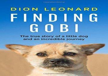 Finding Gobi (DION LEONARD)
