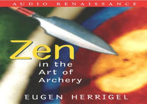 Zen In The Art Of Archery Pdf