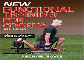 New Functional Training for Sports 2nd Edition (Michael Boyle)