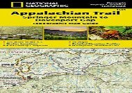Appalachian Trail, Springer Mountain to Davenport Gap [Georgia, North Carolina, Tennessee] (National Geographic Trails Illustrated Map) (National Geographic Maps - Trails Illustrated)