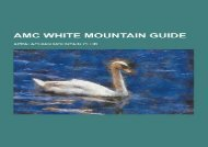 AMC White Mountain Guide (Appalachian Mountain Club)