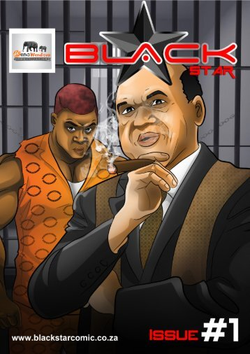 Black Star Comic Book