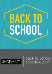 Back to School Shoe Mart Collection 2017