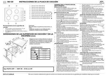 KitchenAid HB 420 - HB 420 ES (857934701000) Istruzioni per l'Uso