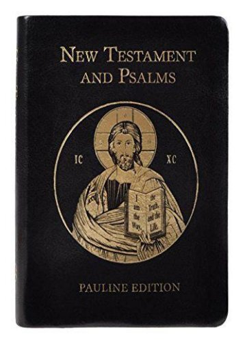 New Testament and Psalms ()