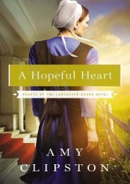 A Hopeful Heart (Hearts of the Lancaster Grand Hotel) (Amy Clipston)