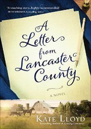 A Letter from Lancaster County (Lancaster Discoveries) (Kate Lloyd)