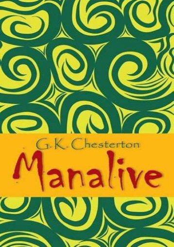 Manalive (G K Chesterton)