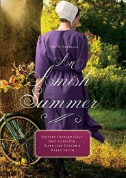 An Amish Summer: Four Novellas (Thorndike Press Large Print Christian Fiction) (Shelley Shepard Gray)