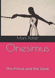 Onesimus: The Prince and the Slave (Mark Potter)