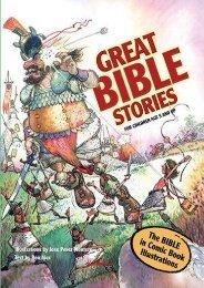Bible Stories-Comic Bible for Kids-Great Bible Stories-Bible Stories for Children-Adam-Eve-Satan-Serpent-St. Joseph-Samson-Jesus-St. Paul-Bible Story ... for Kids- Elijah-Apostle-Jonah Whale-Moral (Ben Alex)