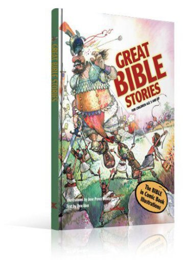 Bible Stories-Comic Book Bible for Kids-Great Bible Stories-Bible Stories for Children-Adam Eve-Satan-Serpent-St.Joseph-Samson-Jesus-St. Paul-Bible ... for Kids-Elijah-Apostle-Jonah Whale-Moral (Ben Alex)