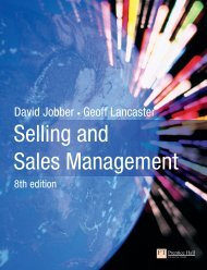 Selling and Sales Management - Index of