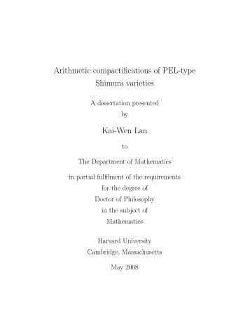 The longest mathematics thesis - UH Department of Mathematics
