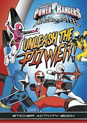 Unleash the Power! Sticker Activity Book (Power Rangers) (Penguin Young Readers Licenses)