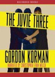 The Juvie Three (Gordon Korman)