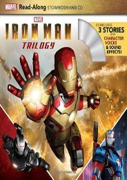 Iron Man Trilogy Read-Along Storybook and CD (Marvel Press Book Group)