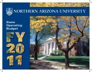 Instruction - Welcome to www4.nau.edu - Northern Arizona University