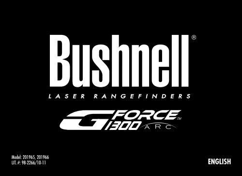Bushnell G-Force 1300 ARC T/él/ém/ètre Compact 201965
