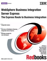 WebSphere Business Integration Server Express - IBM Redbooks