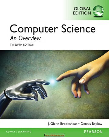 Computer Science- An Overview (12th Global Edition)