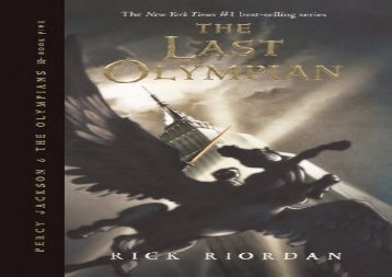 The Last Olympian (Percy Jackson and the Olympians, Book 5) (Rick Riordan)