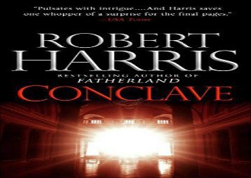 Conclave: A novel (Robert Harris)